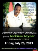 Join Jackiem on July 26