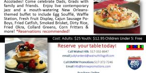 Fathers Day Jazz Brunch at Walnut Hills 2016rev