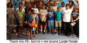 Thank you  Mr Norris and Grand Ledge Fledge_2016 Math and Music Camp